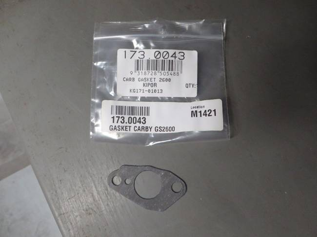 Kipor Carburettor Gasket for GS2600, IG2600
