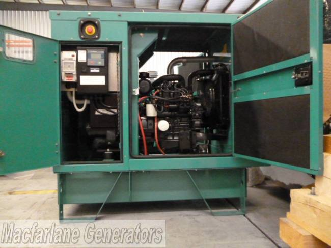 5kVA Used Perkins Enclosed Generator (U467)