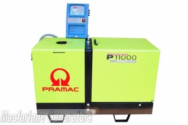 10 8kva Pramac Automatic Mains Failure  Amf  Generator