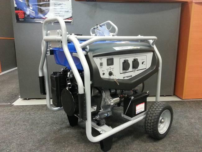 EF7200E With Wheel Kit