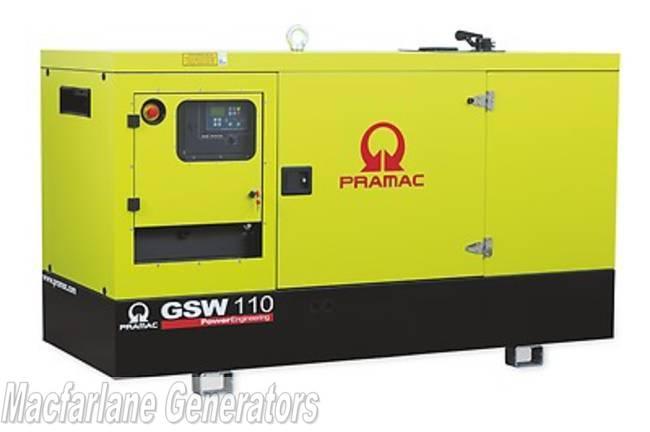 114kVA Pramac Perkins Generator (GSW110P-PFL)