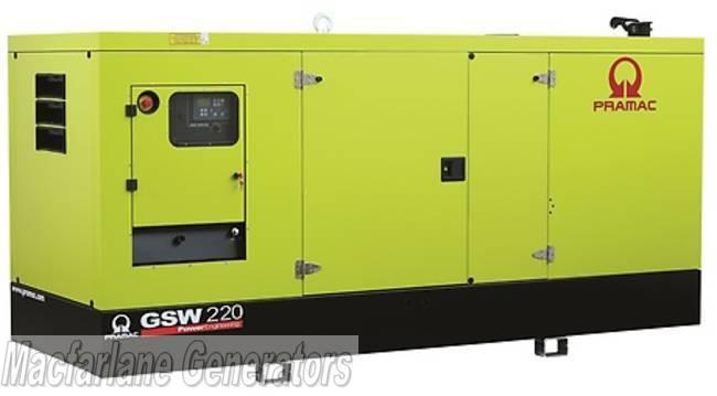 220kVA Pramac Perkins Generator (GSW220P-PFL)