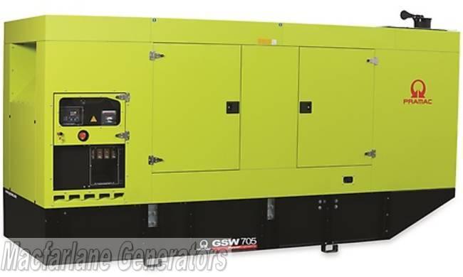 705kva Pramac Volvo Generator  Gsw705v