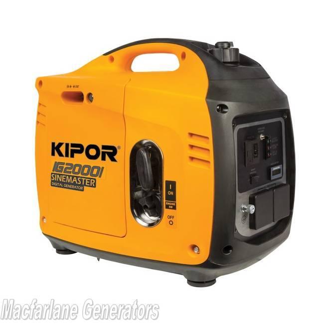 2 2kVA Kipor Inverter Generator - 2018 Model (IG2000i)