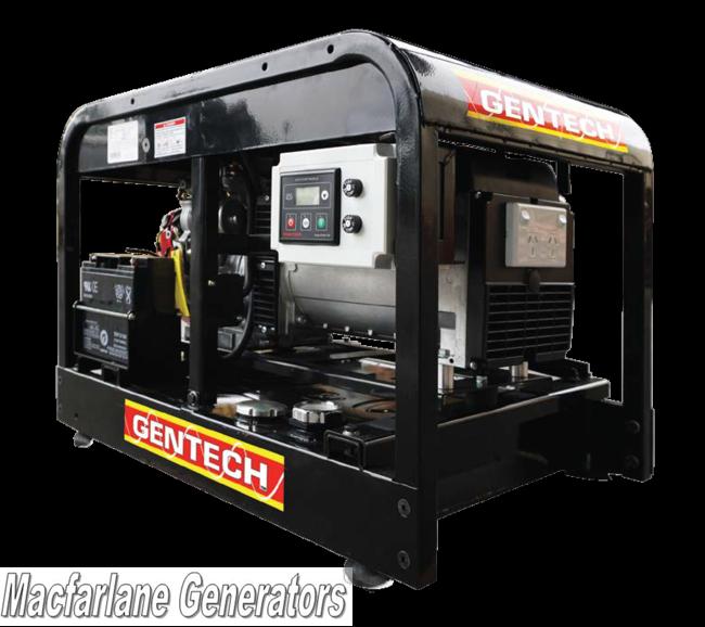 8 0kVA Gentech Remote Start Petrol Generator (EP8000HSRE-RS)
