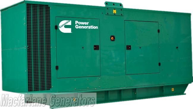 350kVA Cummins Diesel Generator - New (C350D5)