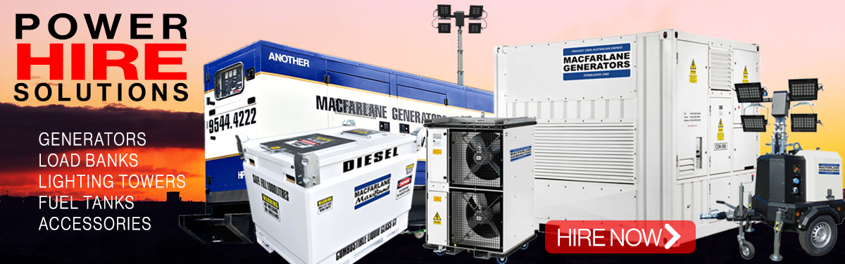 Generator Hire Equipment