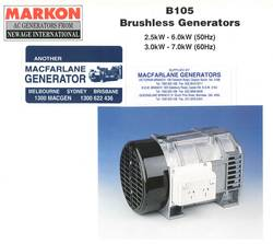 BL105 Markon Alternator product image