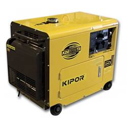 5.0kVA Kipor Single Phase Generator - Electric Start (KDE6700TA) product image