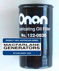 122-0836 Onan Oil Filter product image
