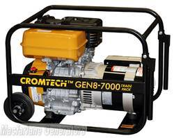 7.0kVA/kW Cromtech Trade Pack Generator (CTG85TP / TG85RPT) product image