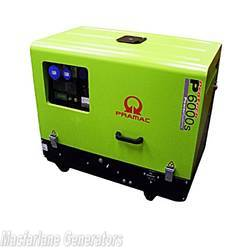 5.9kVA Pramac Diesel Silent Generator (P6000S) product image