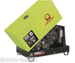 14kVA Pramac Perkins Generator (GBW15P-PFL) product image