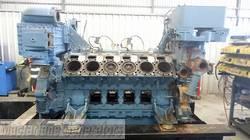 MTU 4000 V12 Diesel Engine Dismantled product image