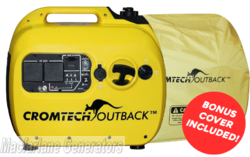 2.4kVA/kW Cromtech Outback Inverter Generator (CTG2500i) + BONUS COVER product image