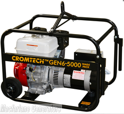 5.0kVA/kW Cromtech Honda Generator (CTG60HTP / TG60HPT) product image