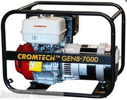 7.0kVA/kW Cromtech Honda Generator (CTG85H / TG85HP) product image