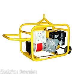 4.2kVA/kW Crommelins Petrol Recoil Hirepack Generator (P53H / CG53RPH) product image