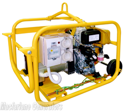 2.4kVA/kW Crommelins Diesel Hire Pack Generator (D32YDEH / CG32YDEH) product image