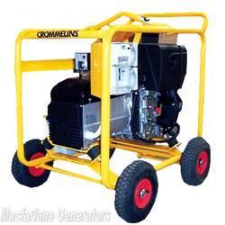 6.0kVA/kW Crommelins Diesel Hatz Generator (D8EH / CG80ZDEH) product image