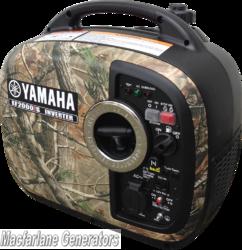 2.0kVA Yamaha Camouflage Inverter Generator (EF2000iSC) product image