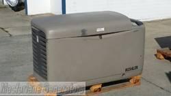 13/14kVA Nat/LP Gas Used Kohler Enclosed Generator Set (U269) product image