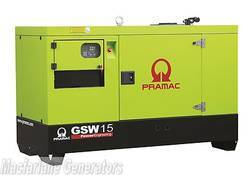 14.3kVA Pramac Perkins Generator (GSW15P-PFL) product image