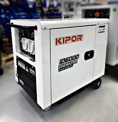 5.5kVA Kipor Inverter Generator on wheels (ID6000) product image