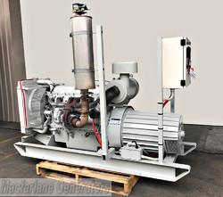 77kVA Used Dunlite Open Generator Set (U572) product image