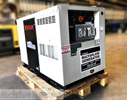 10.5kVA Kipor Inverter Generator on skid (ID10) product image