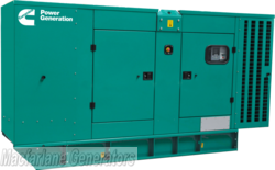 220kVA Cummins Enclosed Generator Set (C220 D5) product image