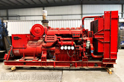 500kVA Used Dorman Open Generator (U575) product image