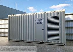 512kVA Used Caterpillar Enclosed Generator (U589) product image