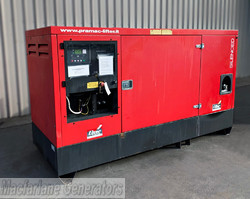 76kVA Used Pramac Enclosed Generator Set (U599) product image