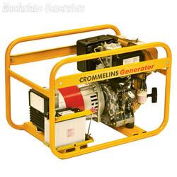 5.0kVA/kW Crommelins Petrol Generator (P64E / CG64RPEH) product image