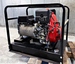 7.5kVA Used Advanced Power Open Generator Set (U568) product image