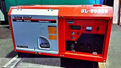 6.5kVA Used Kubota Enclosed Generator (U581) product image