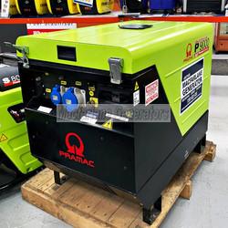 8.8kVA Used Pramac Enclosed Generator Set (U615) product image