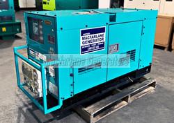 22kVA Used Denyo Enclosed Generator Set (U617) product image