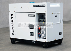6.3kW Kompak Silent Diesel Generator with Long Range Tank (DG8600SE) product image