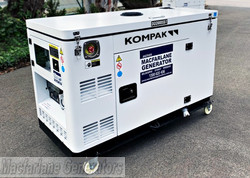 10kW Kompak Silent Diesel Generator (DG12000XSE-T) product image