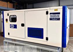 110kVA Used Perkins Enclosed Generator Set (U611) product image