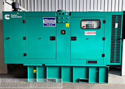 187kVA Used Cummins Enclosed Generator Set (U555) product image