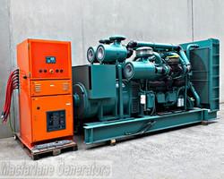 1000kVA Used Detroit Open Generator Set (U563) product image