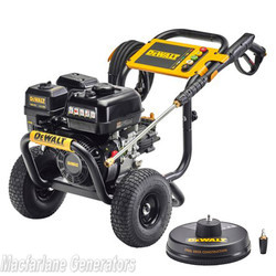 3300PSI Dewalt Petrol Pressure Washer with Turbo Nozzle & Surface Scrubber (DXPW3300) product image