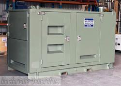 60kVA Used RDS Enclosed Gas Generator Set (U635) product image