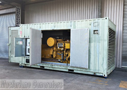 880kVA Used Caterpillar Enclosed Generator Set (U623) product image